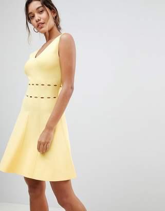 Morgan Knitted Full Prom Midi Dress