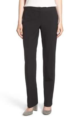 Halogen Taylor Ela Straight Leg Suit Pants (Regular & Petite)