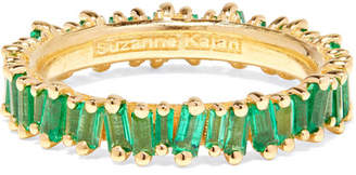 Suzanne Kalan 18-karat Gold Emerald Ring