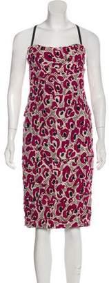 Burberry Sleeveless Midi Dress