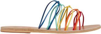 Ancient Greek Sandals Rodopi Rainbow Strap Sandals