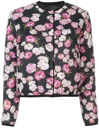 Giambattista Valli collarless floral jacket