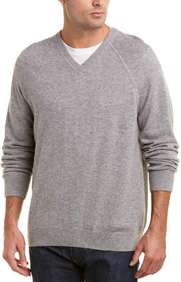 Vince Wool & Cashmere-Blend V-Neck Sweater