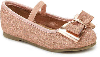 Carter's Big Bow Toddler Mary Jane Flat - Girl's