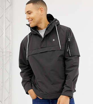 G Star G-Star Rackam hooded anorak jacket in black