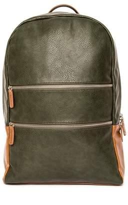 Co Brouk & Alpha Green Vegan Leather Backpack