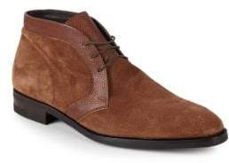 Stamp Suede Chukka Boots
