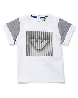 Armani Junior Optical White Tshirt