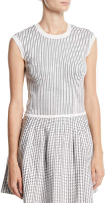 Club Monaco Himalayah Sleeveless Cropped Sweater Shell Top