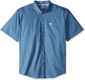 Cinch Men's Classic Fit Print Shirt