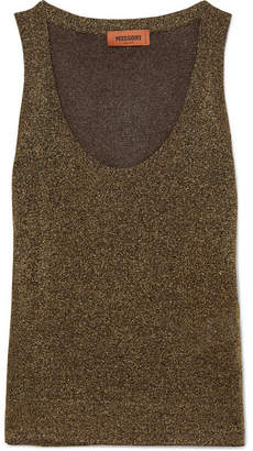 Missoni Lurex Tank - Gold