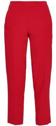 Amanda Wakeley Stretch-crepe Tapered Pants