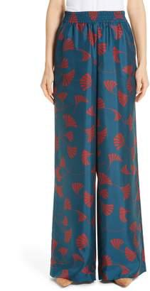 Lafayette 148 New York Hester Silk Wide Leg Pants