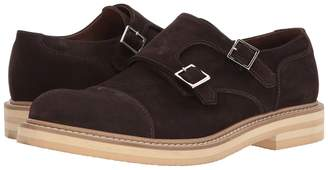 Eleventy Suede Double Monk Men's Shoes