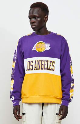 Mitchell & Ness Los Angeles Lakers Crew Neck Sweatshirt