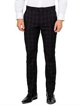Paul Smith Wool Check Slim Trouser