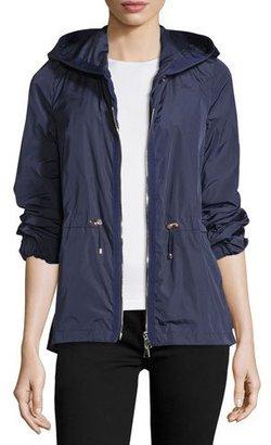 Moncler Jol Nylon Drawstring-Waist Water-Resistant Jacket $1,085 thestylecure.com