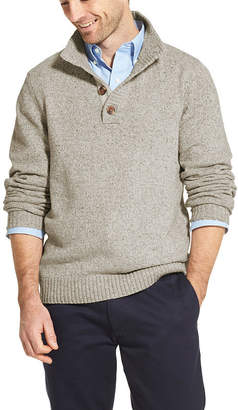 Izod High Neck Long Sleeve Pullover Sweater