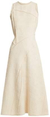 Proenza Schouler Sleeveless Boulce Tweed Dress - Womens - Cream