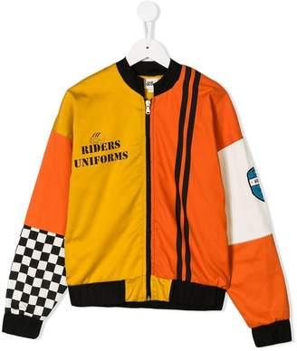 Bandy Button Bandy bomber jacket