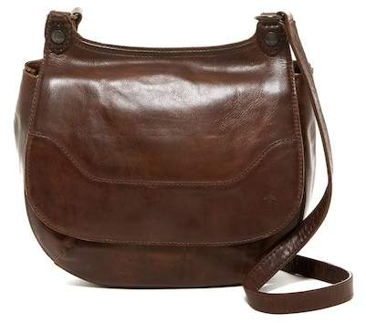 Frye Melissa Leather Foldover Crossbody Bag
