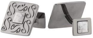 Marco Dal Maso Vintage Cufflinks w/ White Howlite