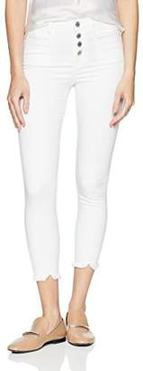 William Rast Women's High Rise Crop Jean