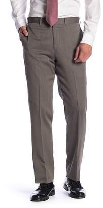"Brooks Brothers Tan Wool Classic Fit Trousers - 30-34"" Inseam"