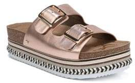 Sam Edelman Oakley Metallic Sandals