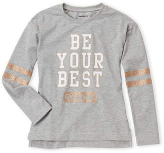 Reebok Girls 7-16) Be Your Best Long Sleeve Tee