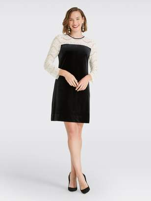 James Long Draper JamesDraper Sleeve Lace Shift Dress