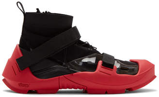 Nike Black and Red MMW Edition Free TR 3 SP Sneakers
