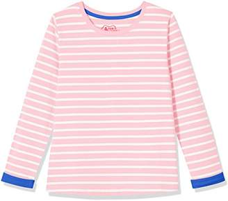 A for Awesome Girls Long Sleeve Jersey Tee Ellis Blue