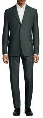 Valentino Notch Lapel Buttoned Suit