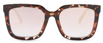 Quay Genesis 55mm Square Sunglasses