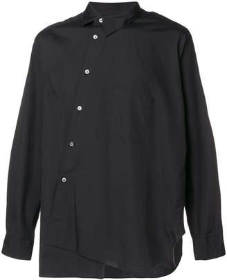 Comme des Garcons long-sleeve asymmetric shirt