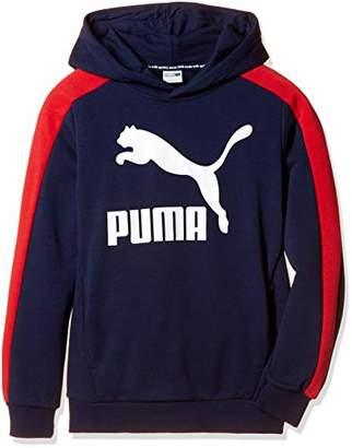Puma (プーマ) - [プーマ] トレーニングウェア Classics パーカー 853419 [ボーイズ] ピーコート (06) US 128 (日本サイズ130 相当)