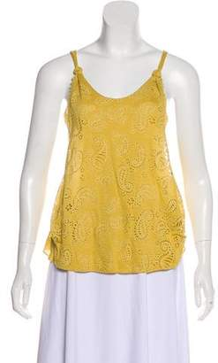 3.1 Phillip Lim Embroidered Sleeveless Top