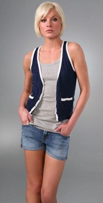 Splendid Sporty Stripe Vest