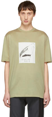 Lanvin Beige Natural Pain Killer Me T-Shirt