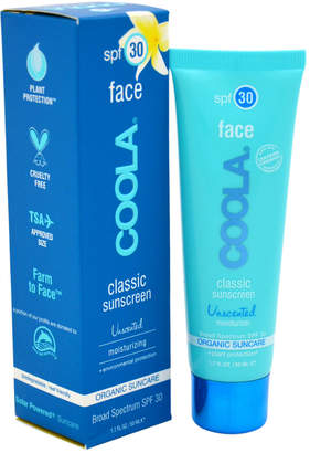 Coola 1.7Oz Unscented Classic Face Sunscreen Moisturizer Spf 30