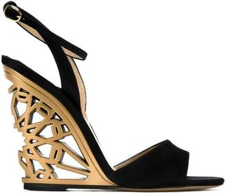 Paul Andrew 'Kismet' wedge sandals