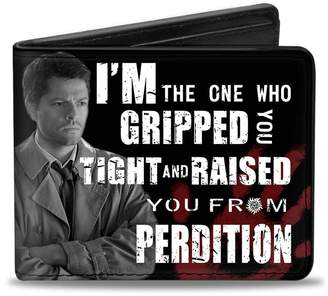 The One Buckle Down Buckle-Down Men's Wallet Castiel Pose I'm Who Gripped You Tight AND Ra Accessory,