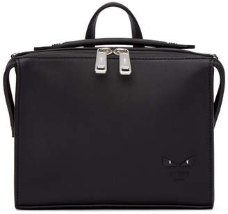 Fendi Black Mini I See You Lui Briefcase
