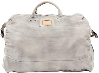 Diesel Grey Leather Bag