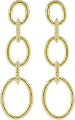 Carla Amorim Clarice Gold Link Earrings