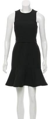 Cinq à Sept Sash Tie Mini Dress