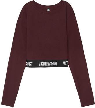 Victoria Sport Logo Long Sleeve Crop