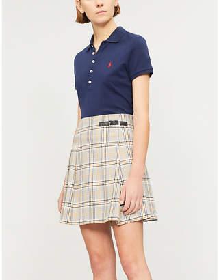 Polo Ralph Lauren Logo-embroidered stretch-cotton-piqué polo top