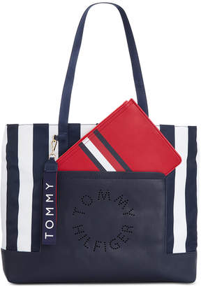 4ddc56acb9 Tommy Hilfiger White Tote Bags - ShopStyle